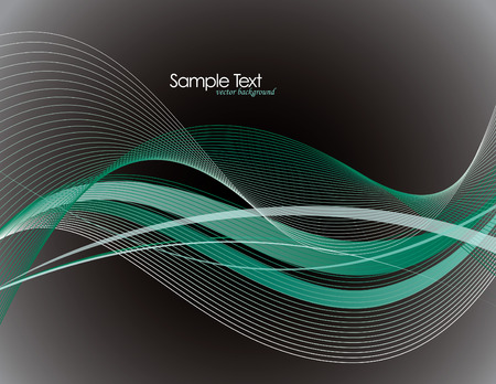 lineas onduladas: Resumen de vectores de fondo con l�neas onduladas.