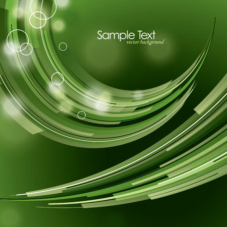 Abstract Vector Background with Wavy Lines. Vector