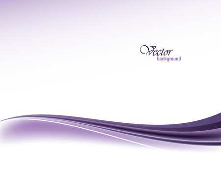 Purple Vector Modern Wavy Background. Eps10.