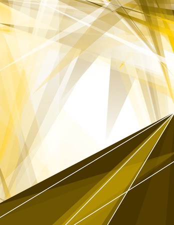 sharp: Abstract Golden Background with Sharp Elements.