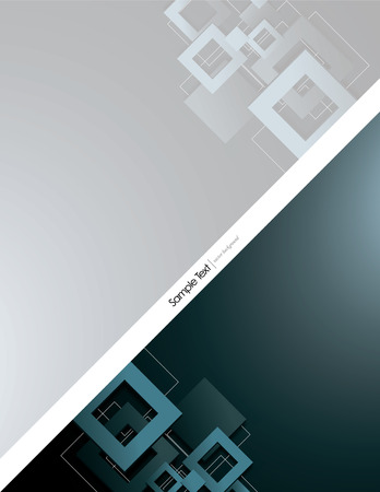 mirrow: Silver Vector Background with 3D Rhombuses. Illustration