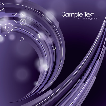 shiny background: Abstract  Shiny Background with Wavy Lines. Illustration