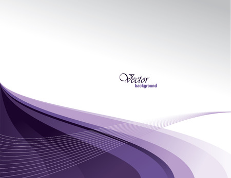 Vector Modern Wavy Background. Eps10. Vettoriali