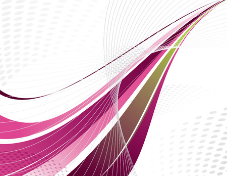 Vector Swoosh. Diseño abstracto. Eps10.