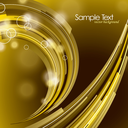 Abstract Shiny Background. Vector Illustration with Sparkles. Ilustração