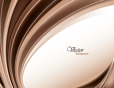 brown: Vector Modern Brown Wavy Background.