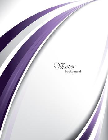 Vector Wavy Background.