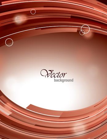Abstract Shiny Background. Vector Illustration with Sparkles. Ilustração