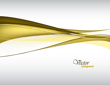 curve: Vector Wavy Background.