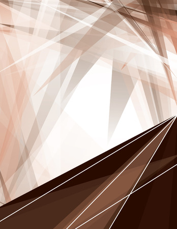 sharp: Abstract Brown Background with Sharp Elements. Illustration