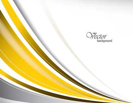 elegant white: Vector Wavy Background.