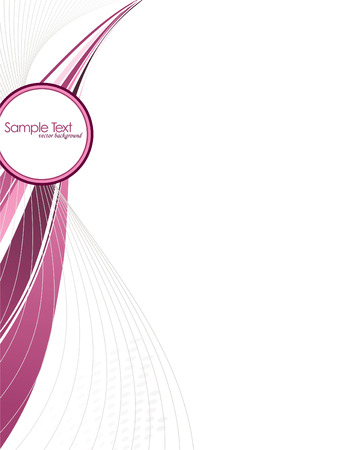 Abstract Vector Background with Pink Elements.