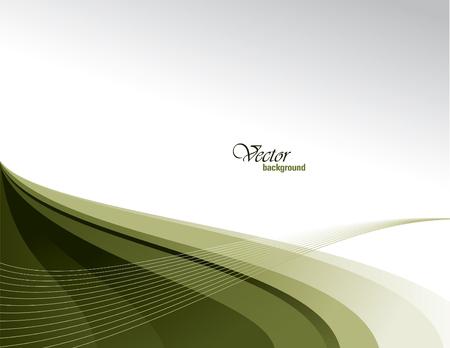 eps10: Vector Modern Wavy Background. Eps10. Illustration