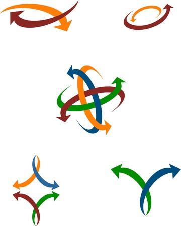 A useful arrow icons  Vector
