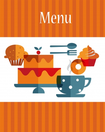breakfast menu template Stock Vector - 19981493