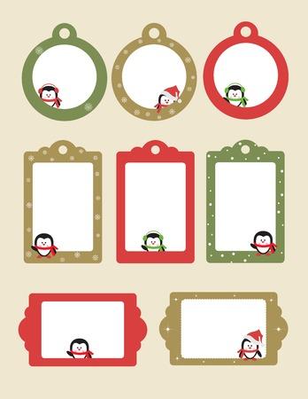 farme: Blank template for Christmas greetings card,  postcard or photo farme