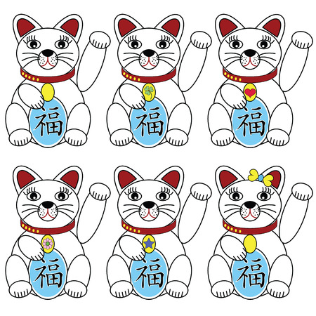 good karma: Chinese lucky cat
