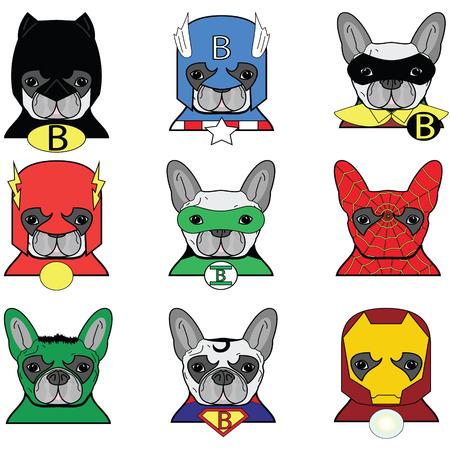 French bulldog  Dog Heroes Icons