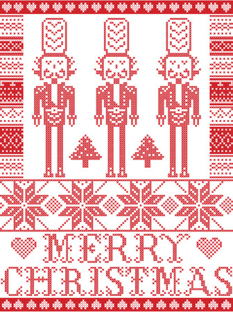 Elegant Christmas pattern.