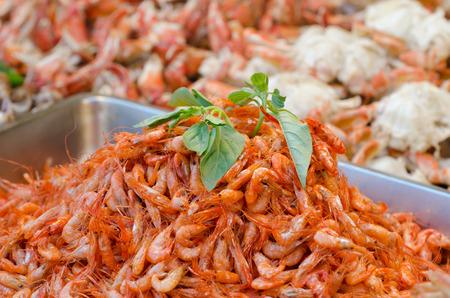 Small fried shrimps
