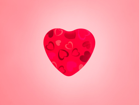 thumping: Love heart thumping beating on white background. Animation of red love heart thumping beating used to symbolize amour romance or a passion filled romantic valentines day