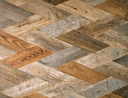 Rhomb decorative wooden plank. Textured wooden pattern Stok Fotoğraf