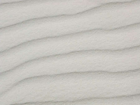 Wave pattern of white sands Stock Photo