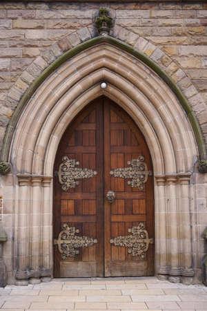 Old European style door