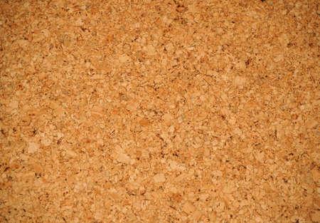 Close-up blank cork board