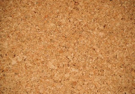 Close-up texture of cork board Stock Photo