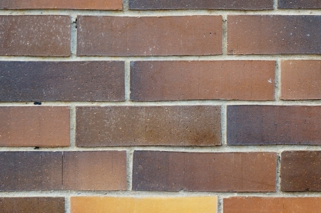 Close up of big sized brick wall