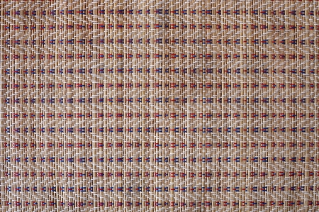 Texture of Thai styled weave mat