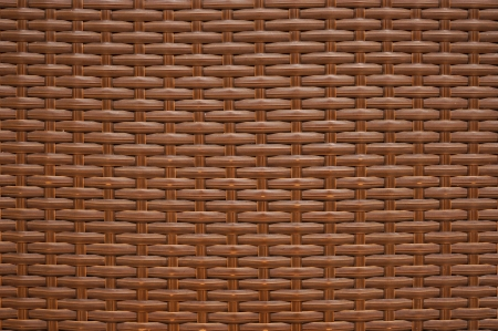 Pattern of brown weave furniture Stock Photo