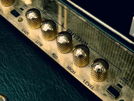 Amplifier Knobs 02 Banco de Imagens
