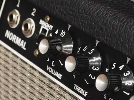 Amplifier Knobs 01 Banco de Imagens
