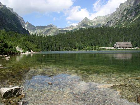 Poprad Tarn in the High Tatras photo