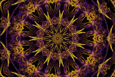 Kaleidoscopic star photo