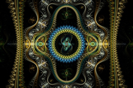julian: Colourful Grand Julian Fractal
