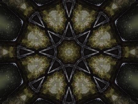 Black Mandala Star II photo