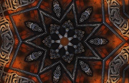 Dark Mandala Star Stock Photo - 11799046