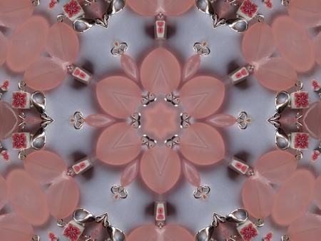 Pink Mandala Flower photo