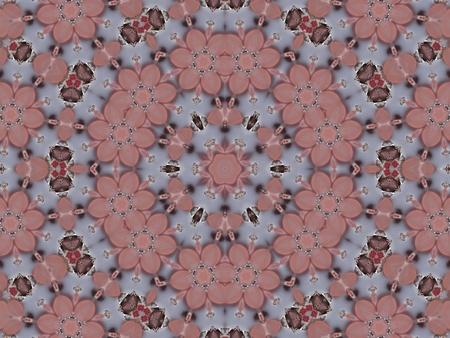 Pink Mandala Wreath photo
