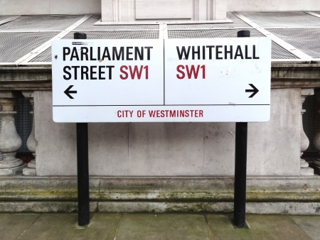 London, Great Britain - July 9 2012: Street Sign