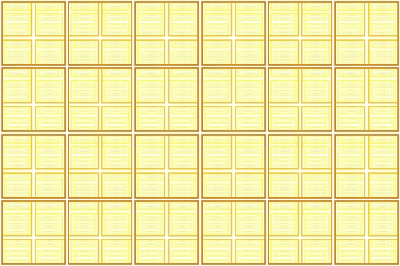 intersecting: Background with Yellow Square Pattern