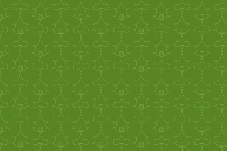 Green Background with Drawn Pattern photo