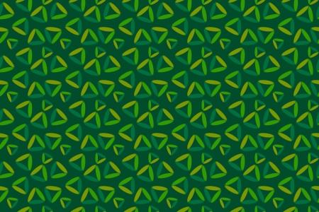 fondo verde oscuro: Seamless fondo verde oscuro con tri�ngulos pintados Foto de archivo