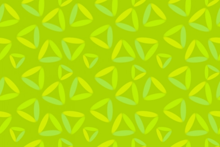 Seamless Background with Painted Green Triangles