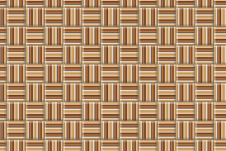 Brown Overlapping Stripes photo