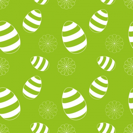 Seamless Easter Egg Background Vector