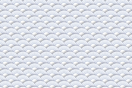 Background with Wave Pattern Stock Photo - 19319000